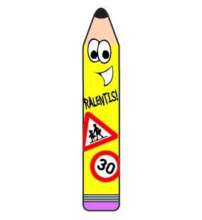 Panneau crayon 2D - SLG signalisation