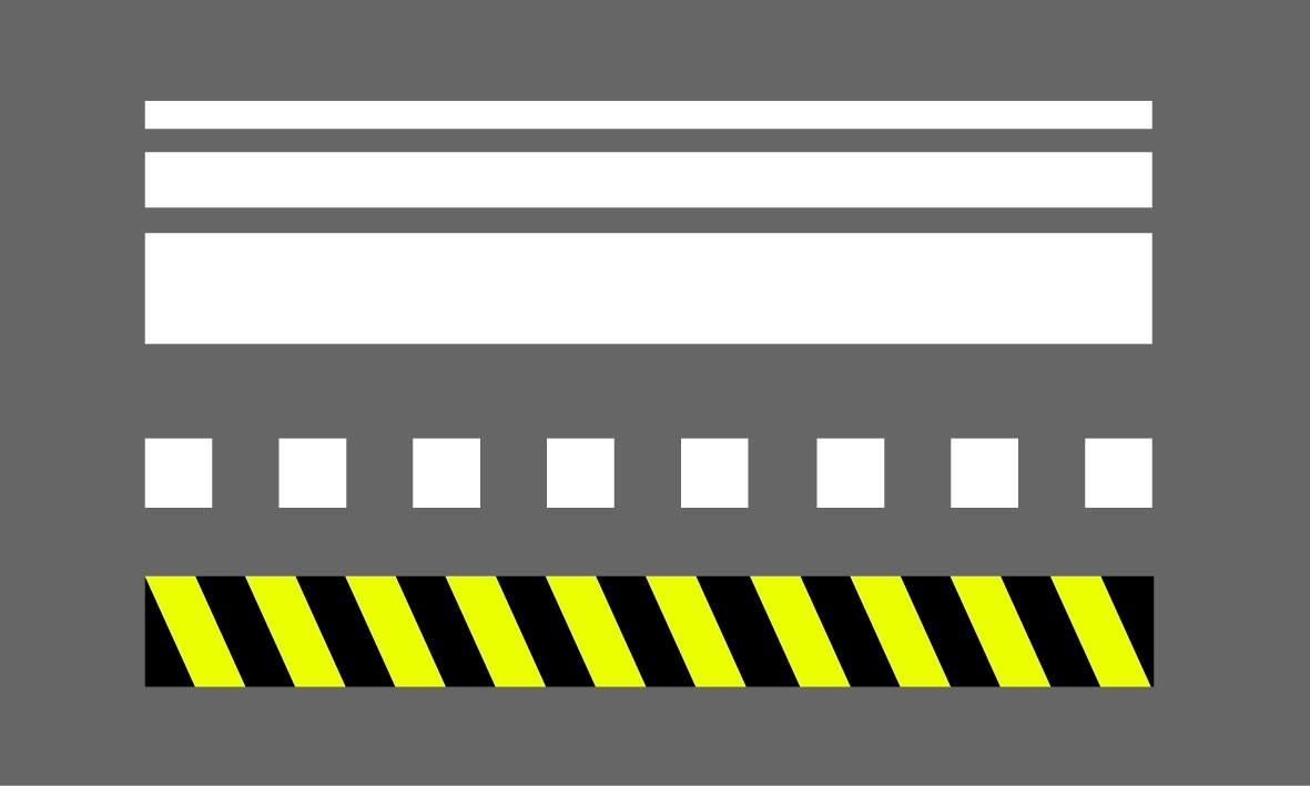 Marquage préfabriqué - Lignes