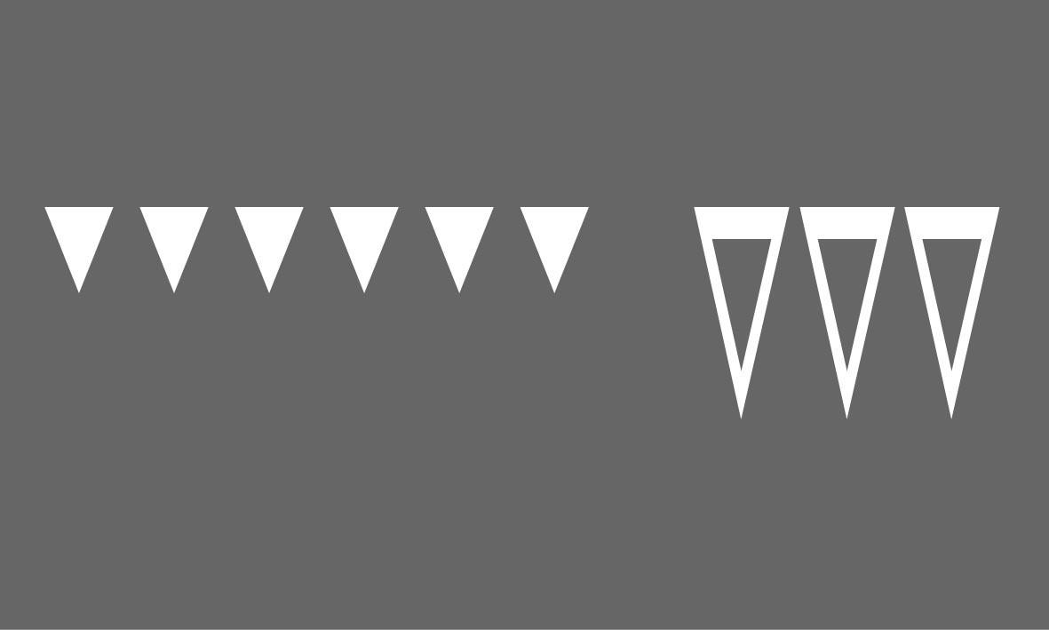 Marquage préfabriqué - Triangles