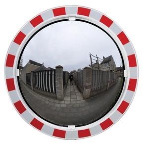 Miroir d'agglomération rond