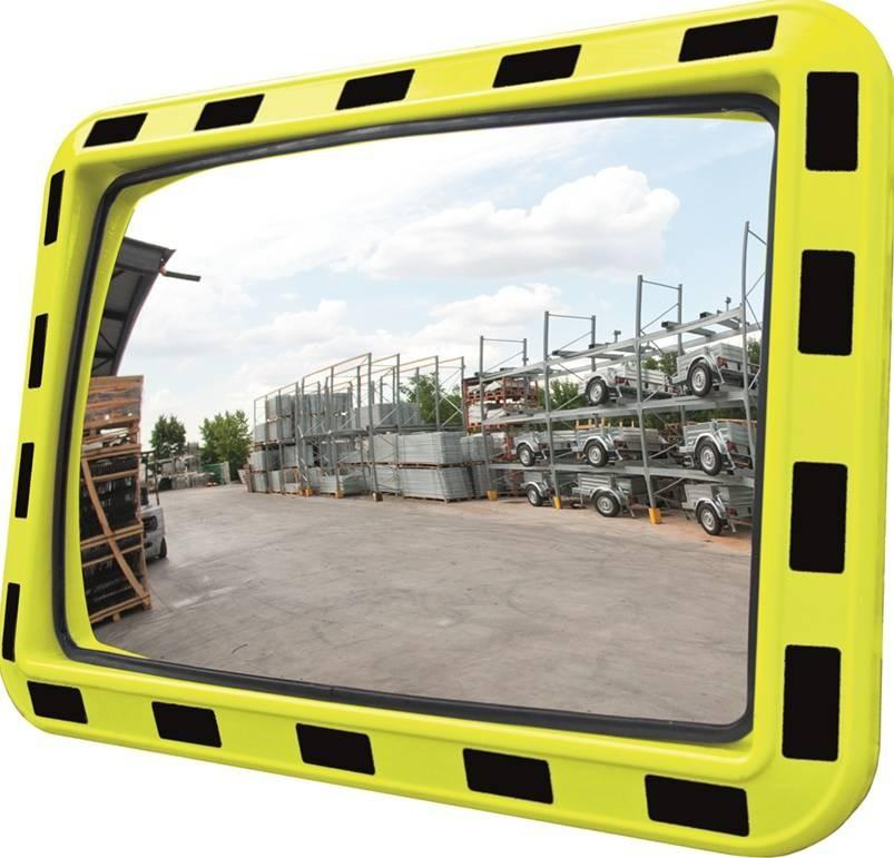 Miroir d'industrie rectangulaire