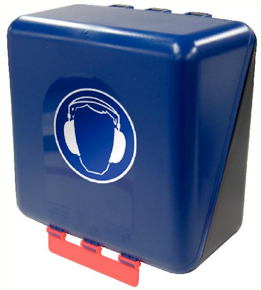 Secubox Midi bleu - Avec pictos (à choisir)