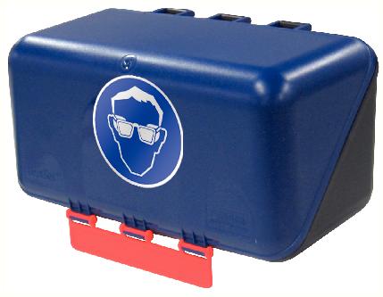 Secubox Mini bleu - Avec pictos (à choisir)