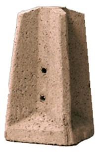 Socles en béton préfabriqué