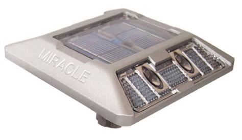 Plot routier solaire alu