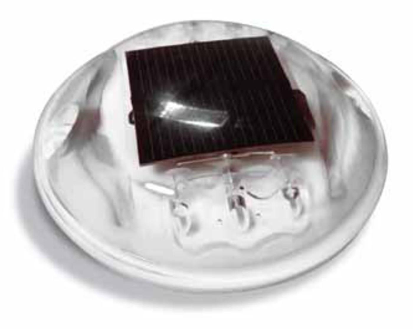 Plot routier solaire polycarbonate