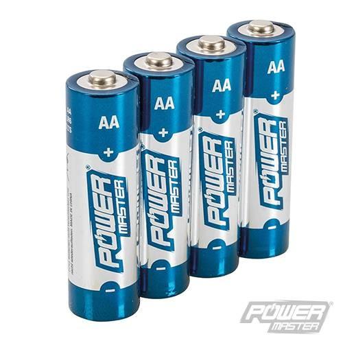 Lot de 4 Piles alcalines Super LR6 type AA