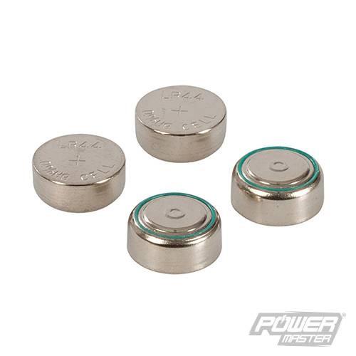 Lot de 4 piles bouton alcalines LR44