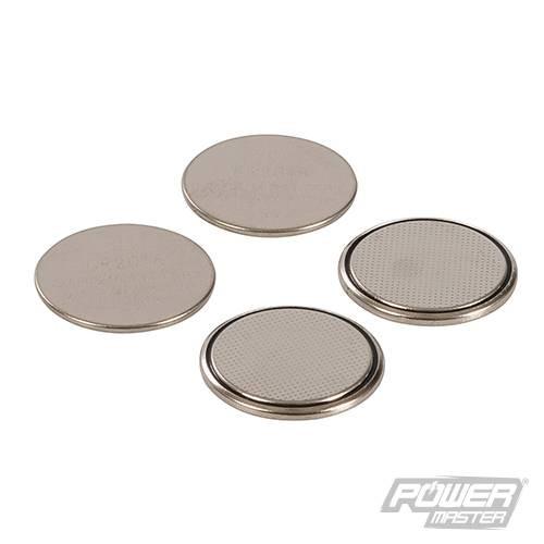 Lot de 4 piles bouton lithium CR2016