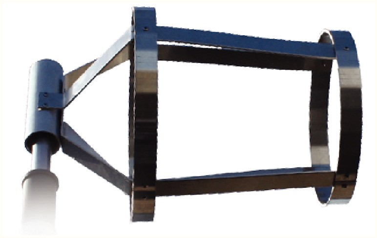 Girouette en aluminium