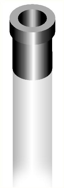 Kit pour poteaux de Ø 76 mm