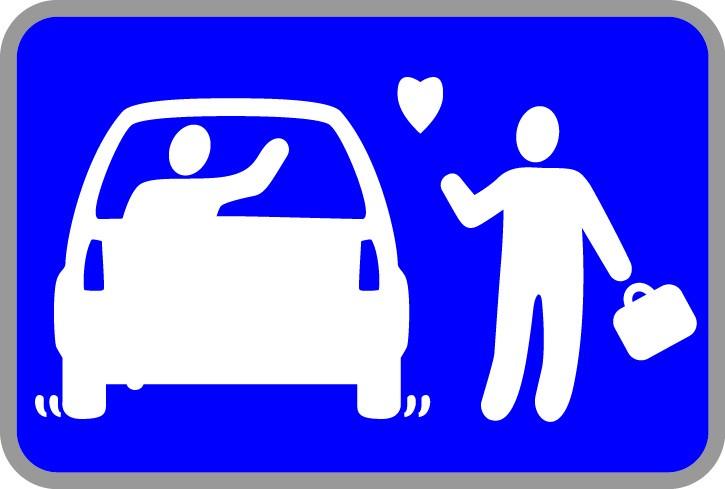 Panneaux dépose minute - Kiss & Ride 1