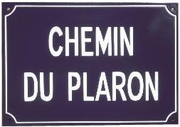 Plaques de rue - Émail
