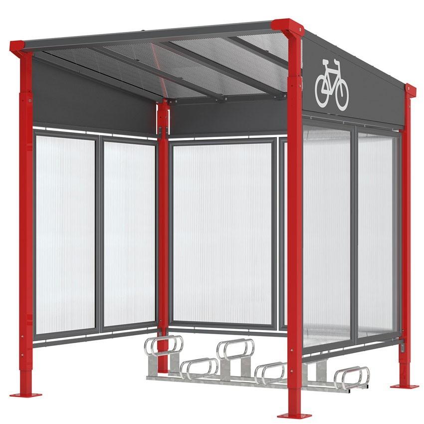 Abri vélo MILANO (NEW)