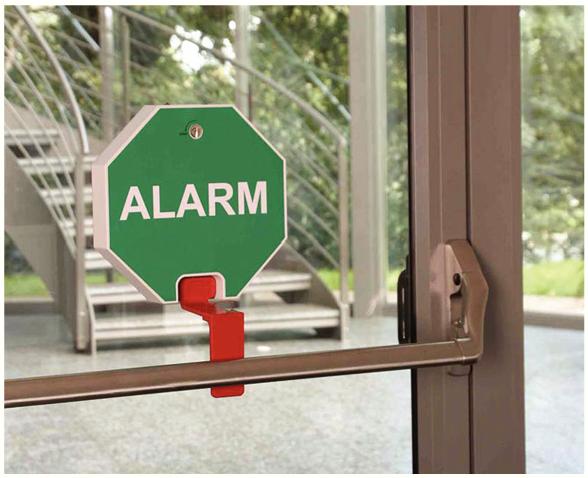Plaque alarme